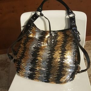 Kenneth Cole Reaction Sequin Hobo